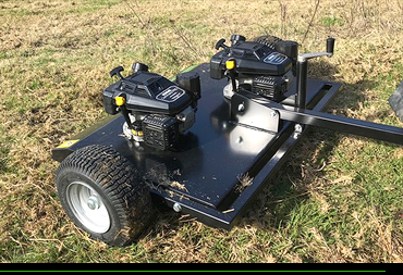 Smokey Goat towable topping mowers NZ made